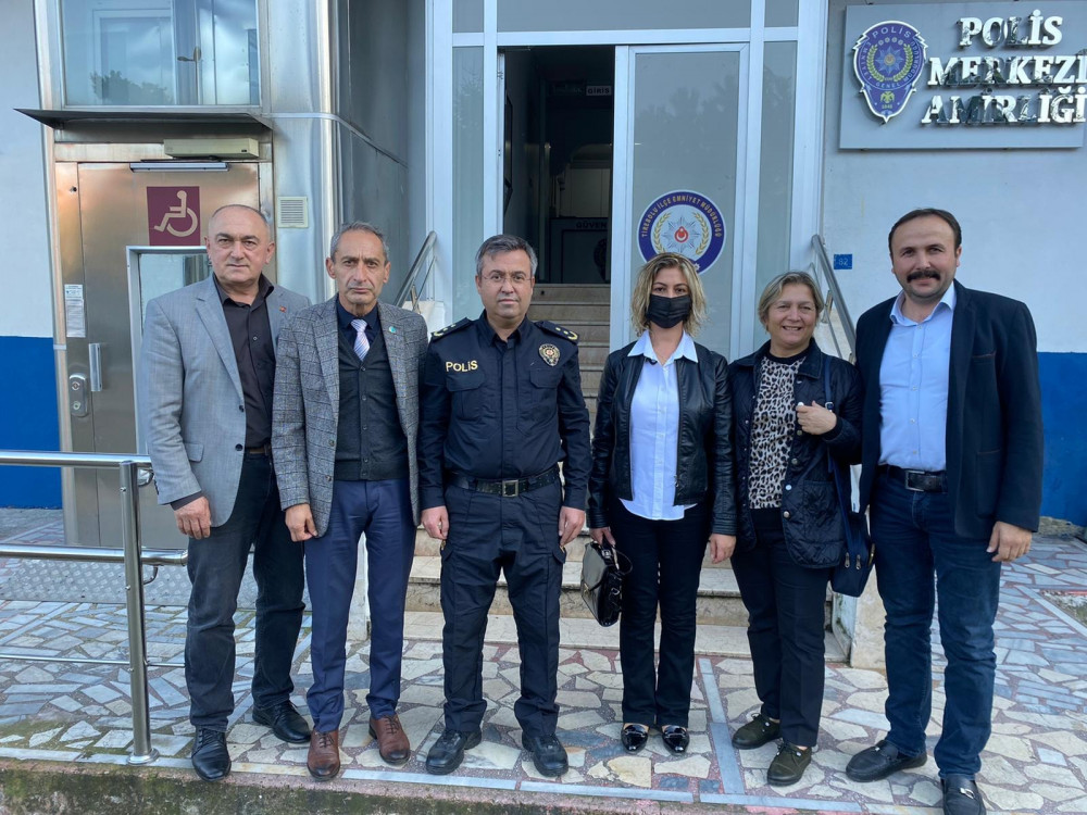 İYİ Parti Tirebolu'dan Emniyet'e Ziyaret!...